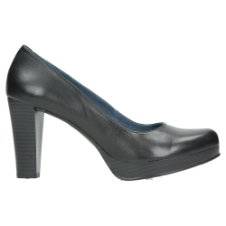 SALON MUJER NEGRO TACON PIEL AGHATA SHOES 3950