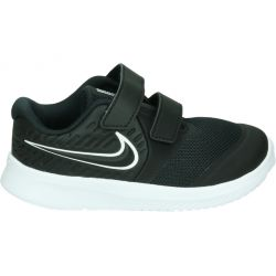 Zapatillas niño NIKE AT1803 001 velcro negra